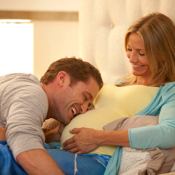 Беременная женщина и ее муж