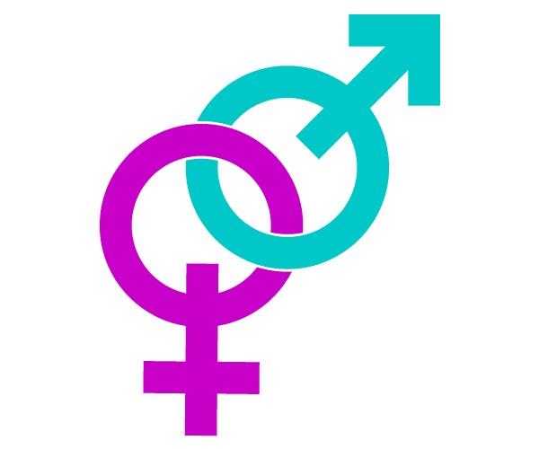 Мужской и женский знаки