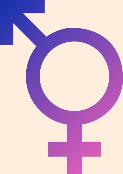 Мужской и женский знак