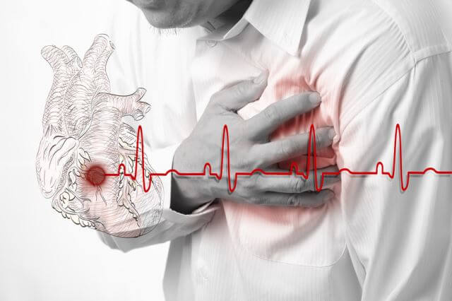 Боль в сердце и пульс