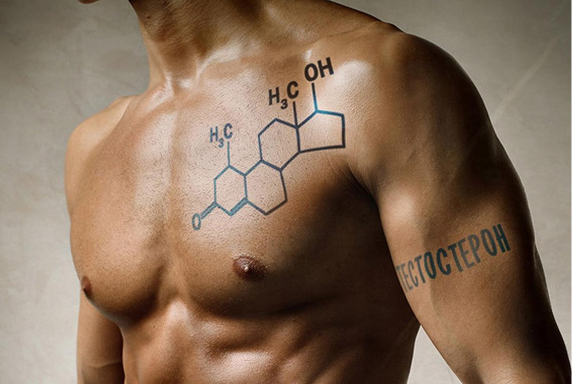 Татуировки у мужчины