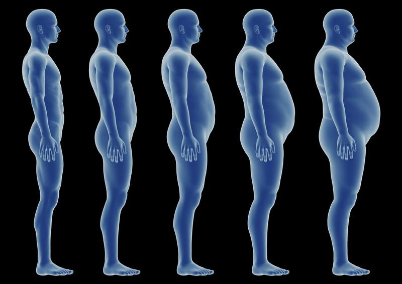 Ожирение у мужского пола