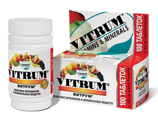 Витамины Vitrum